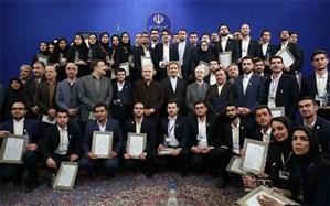 دانشجویان برگزیده و نمونه دانشگاههای فرهنگیان و شهیدرجایی در جشنواره دانشجوی نمونه