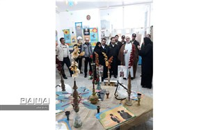 نمایشگاه آسیب شناسی اعتیاد و مواد مخدر در زواره  افتتاح شد