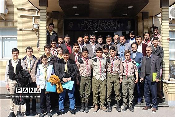 انتخابات مجامع پیشتازان پسر سازمان دانشآموزی استان سمنان