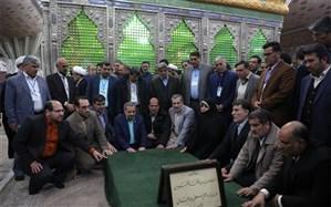 علیرضا کاظمی: اردوگاه بینالمللی امام(ره) در جوار حرم امام با ظرفیتهای بالا احداث خواهد شد