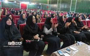 گرامیداشت هفته تربیت اسلامی و میلاد حضرت فاطمه(س) در دبیرستان فرزانگان دوره دوم