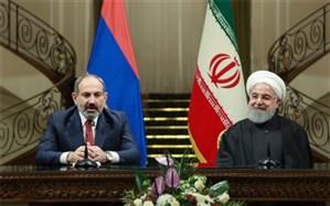 تقدیر روحانی  از مواضع ارمنستان در قبال تحریمهای غیرقانونی آمریکا علیه ایران