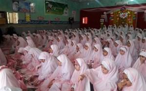برگزاری آیین اختتامیه طرح یاوران نماز درچهاردانگه
