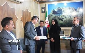 تکریم و معارفه رئیس اداره حفاظت از محیط زیست شهرستان تفت