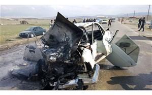 سانحه رانندگی در جاده بوکان -مهاباد با 2 کشته