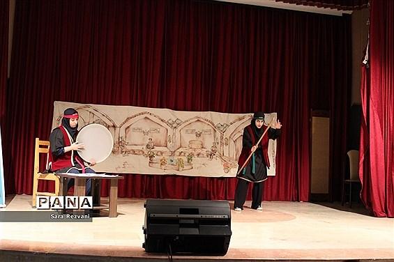 مسابقات هنرهای نمایشی و نقالی دانشآموزان دختر آموزش و پرورش اسلامشهر