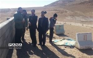 اردوی عملی درس آمادگی دفاعی شهرستان نایین برگزار شد