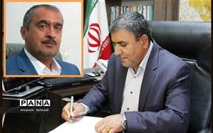 """"""" حسین تقوی رشیدی زاده """" به عنوان معاون مدیرکل و مدیر آموزش و پرورش شهرستان رفسنجان منصوب شد"""