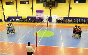 دیدار فینال مسابقات والیبال دانش آموزان پسر دوره دوم متوسطه برگزار شد