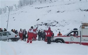 ۳ کوهنورد در ارتفاعات ارومیه بر اثر سقوط بهمن دچار حادثه شدند