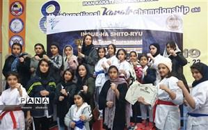 بانوان کاراته کار امیدیه بر سکوی سوم مسابقات کشوری ایستادند
