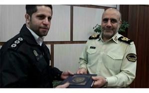 تقدیر پلیس از مأمور ماجرای فرهاد مجیدی + تصویر