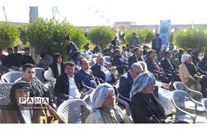 مراسم بزرگداشت شهدای عشایرعرب خوزستان درشهرستان حمیدیه