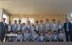 کسب مقام اول شهرستان در مسابقات قرآن، عترت و نماز توسط دبیرستان شهید ذوالفقاری میبد