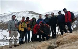 منطقه بیست بره میزبان گروه کوهنوردی فرهنگیان لاچین شیروان