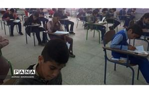 برگزاری المپیاد علمی ریاضی در بین داش آموزان ابتدایی شهرستان لالی