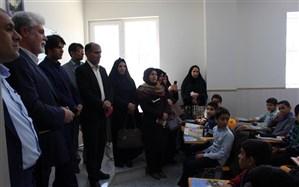بازدید مدیران مدارس هیات امنایی  آموزش و پرورش شهرستان بویراحمد از مدرسه مصلی نژاد یزد