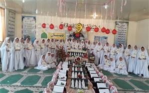 برگزاری جشن تکلیف دانش اموزان اموزشگاه شاهد کوثر شهرستان گتوند