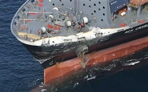 ربوده شدن کشتی عراقی در آب های ایران دروغ است
