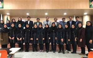 اعزام 9 نفر از دانش آموزان دبیرستان فرزانگان شهرستان بوشهر جهت شرکت در کنفرانس جهانی ریاضیات