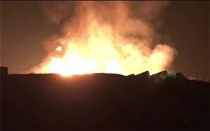 رانش زمین و انفجار گاز در شهرستان طالقان