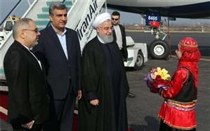 روحانی: افتتاح راه آهن قزوین - رشت، مهمترین پروژه سفر به گیلان است