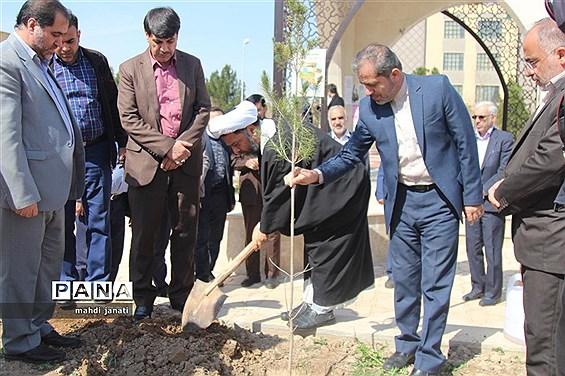 جشن درختکاری در استان قم
