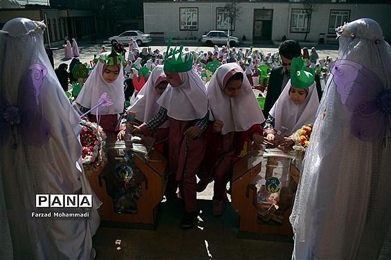 برگزاری مراسم جشن نیکوکاری و کاشت نهال در چهاردانگه