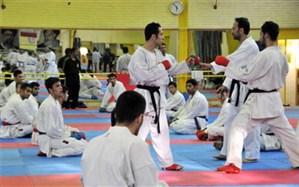 اردوی تیم ملی کاراته جوانان و امید در استان البرز آغاز شد