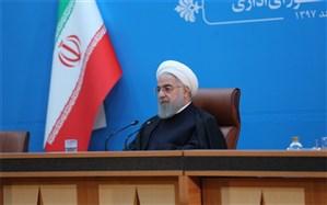 روحانی: نقدینگی را کسانی ساختند که موسسات غیر مجاز را آفریدند و خودشان مردم را به خیابانها  کشاندند