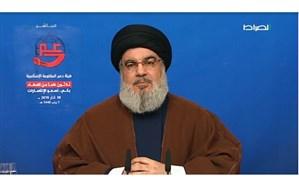 سید حسن نصرالله: به دلیل اینکه شکستشان دادهایم ما را در فهرست تروریسم قرار میدهند