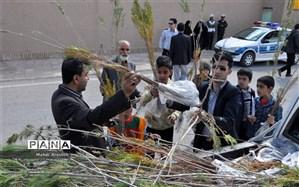 توزیع 40 هزار نهال درشهرستان  خوسف