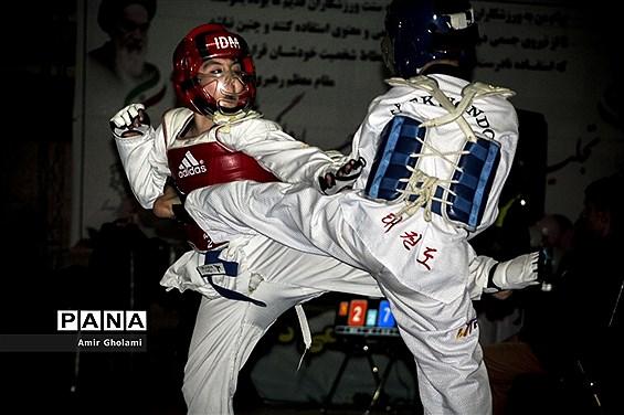 مسابقات تکواندو استان تهران
