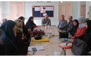 بازدید سرزده مدیر منطقه6 از دبیرستان دخترانه نوشیروان