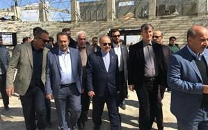 سالن 6 هزار نفری بزرگ شیراز در سال آینده به بهرهبرداری میرسد