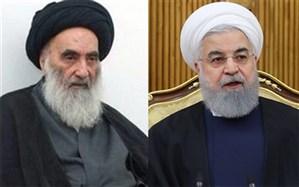 رئیسجمهوری ایران با آیتالله سیستانی دیدار کرد + تصویر