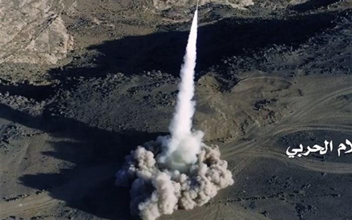 شلیک موشکهای بالستیک ارتش یمن به مواضع مزدوران عربستان