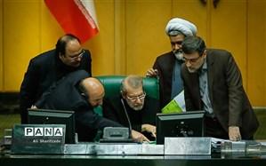 پاسخ  لاریجانی و به کنایه یک نماینده اصولگرا: «عمر کاری ما هم در مجلس مثل شما تمام شده است»