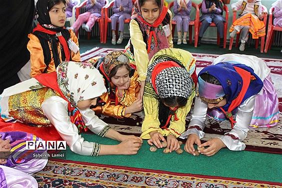 جشنواره دانشآموزی بازیهای بومی محلی در سوادکوه