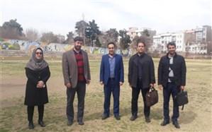بازدید تیم کارشناسی استان از مدارس و فضاهای آموزشی ورزشی ناحیه یک ری