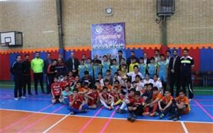 سوت پایان مسابقات فوتسال آموزشگاههای ناحیه یک ری