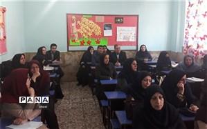 کارگاه هم افزایی آموزگاران  ناحیه 4 کرج برگزار شد