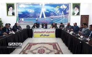 برگزاری شورای آموزش و پرورش شهرستان لالی