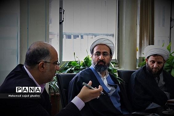 دومین جلسه کمیته همکاریهای حوزه علمیه و آموزش و پرورش شهر تهران
