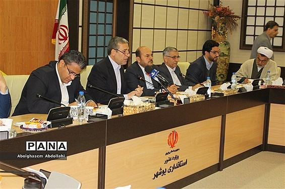 نشست خبری استاندار بوشهر