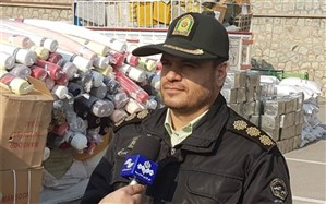 محموله قاچاق 40 میلیاردی در محور های مواصلاتی استان کشف شد
