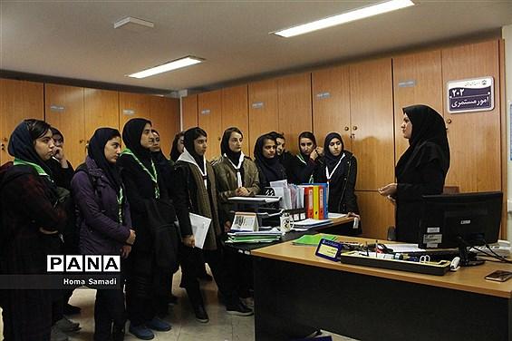 بازدید دانشآموزان تبریزی از شعب تامین اجتماعی
