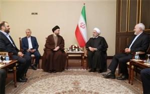 روحانی: ایران و عراق نقش مهم و تأثیرگذاری در منطقه ایفا میکنند