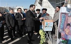 آیین نمادین جشن احسان و نیکوکاری در مدارس شهرستان سلطانیه استان زنجان برگزار گردید
