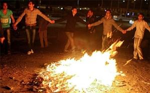 هشدار آتشنشانی در آستانه چهارشنبهسوری
